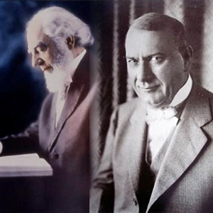 Charles Taze Russell and Joseph F. Rutherford