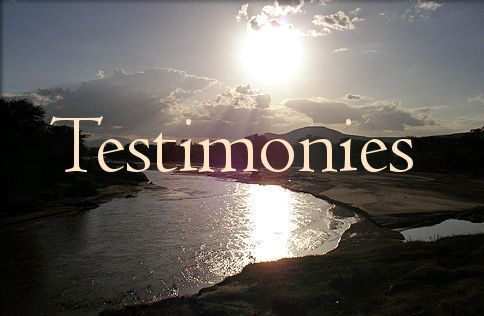 Write my christian testimony